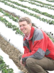 Miles Smiling in a Strawberry Field (2)