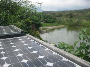 Solar Panels bring water and life to arid areas
